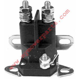 Starter solenoid Universal. 3 pole, 12 volts. Terminal post will accommodate both 5/16