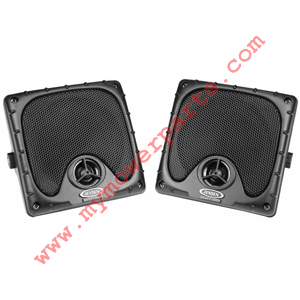 JENSEN HEAVY-DUTY SPEAKERS.  MODEL JXHD35.  USED WITH OUR 12386 RADIO.  OFFERING FULL RANGE AUDIO REPRODUCTION, EASY MOUNTING OPTIONS, AND UV RESISTANCE.