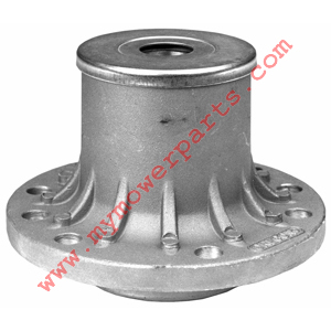 EXMARK SPINDLE HOUSING WITH GREASE FITTING AND BEARINGS REPLACES EXMARK 103-2547, 103-2477, 103-2533, 103-2548, 103-2544, 1-634619, 634619