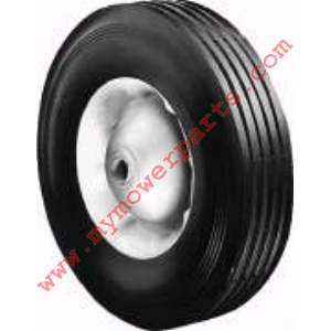 WHEEL STEEL 10 X 2.75 X 5/8 (PAINTED WHITE)