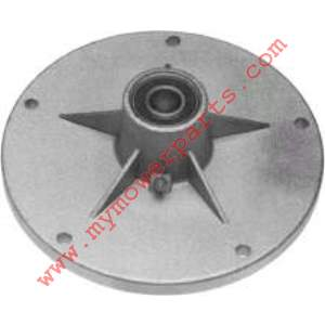 SPINDLE ASSEMBLY BLADE HOUSING ID 5/8 OD 6-7/8 Height 2-37/64  includes both bearings