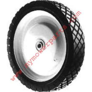 WHEEL STEEL 7 X 1.75 SNAPPER (PAINTED WHITE)