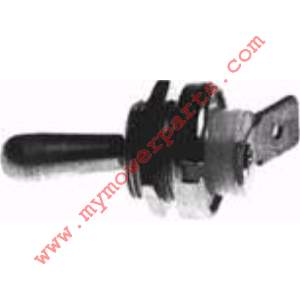 ON OFF IGNITION SWITCH Comes with On-Off Plate and Nut fits most chain saws and trimmers. grounds to housing