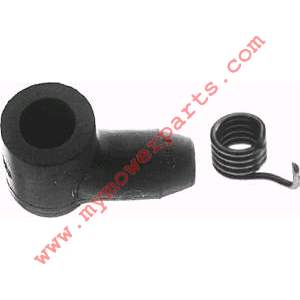 SPARK PLUG BOOT 5 mm for chain saws and trimmers.