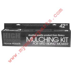 MULCHING KIT 42 sorry discontinued