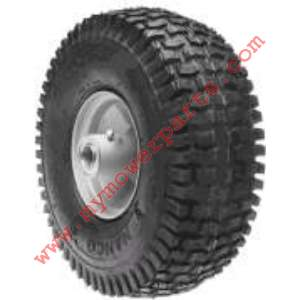 WHEEL ASSEMBLY 410X350X4 SNAPPER (GRAY)