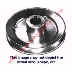 PULLEY STEEL 3/8 ID X 2-1/4 OD 1/8 KEY WAY P301 FITS K&S # 5230 AND TRIM ALL LAWN EDGER