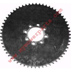 SPROCKET STEEL PLATE 41C 48T UNIVERSAL MOUNTING HOLES 5/16 AND 3/8,  8