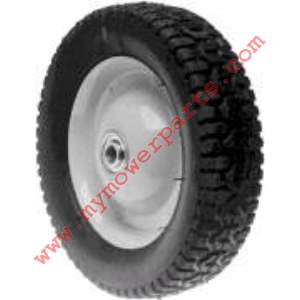 WHEEL STEEL 8 X 1-5/8 SNAPPER (PAINTED GREY)