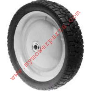 WHEEL STEEL 9 X 1-5/8 SNAPPER (PAINTED GREY)