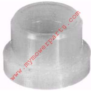 TIE ROD BUSHING   ID 3/8, OD 1/2, Height 3/8, Flange OD 5/8
