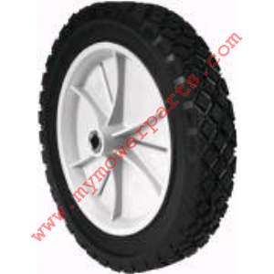 WHEEL PLASTIC 10 X 1.75 SNAPPER (GRAY) Oblong CH 7/11