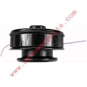 MANUAL FEED TRIMMER HEAD ASSEMBLY COMPLETE WITH 10MM X 1.25 FEMALE LEFT HAND + 8MM X 1.25 MALE LEFT HAND ARBOR BOLTS