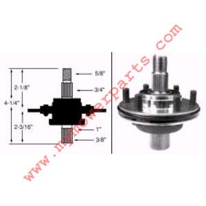 MTD 918-0118 THIS IS A OEM PART CAN NO LONGER GET AFTER MARKET** SPINDLE ASSEMBLY RIGHT HAND AND CENTER