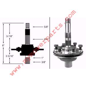 MTD 918-0119 618-0119 SPINDLE ASSEMBLY LEFTHAND **THIS IS A OEM PART CAN NO LONGER GET AFTER MARKET** SPINDLE ASSEMBLY LEFT HAND