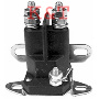 "Starter solenoid Universal. 3 pole, 12 volts. Terminal post will accommodate both 5/16"" & 1/4"" terminal connectors. Mounting bracket will accommodate both chassis and wall mount configurations."