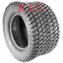 TIRE MULTI-TRAC 18X18.50-10 CARLISLE 4PL USED ON HUSTLER LAWN MOWERS