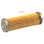 FUEL FILTER OD 1-1/8, ID 1/2, Length 3-3/8
